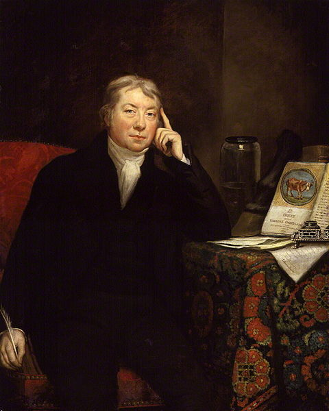 Edward Jenner (1749-1823). Doctor who discovered vaccination.