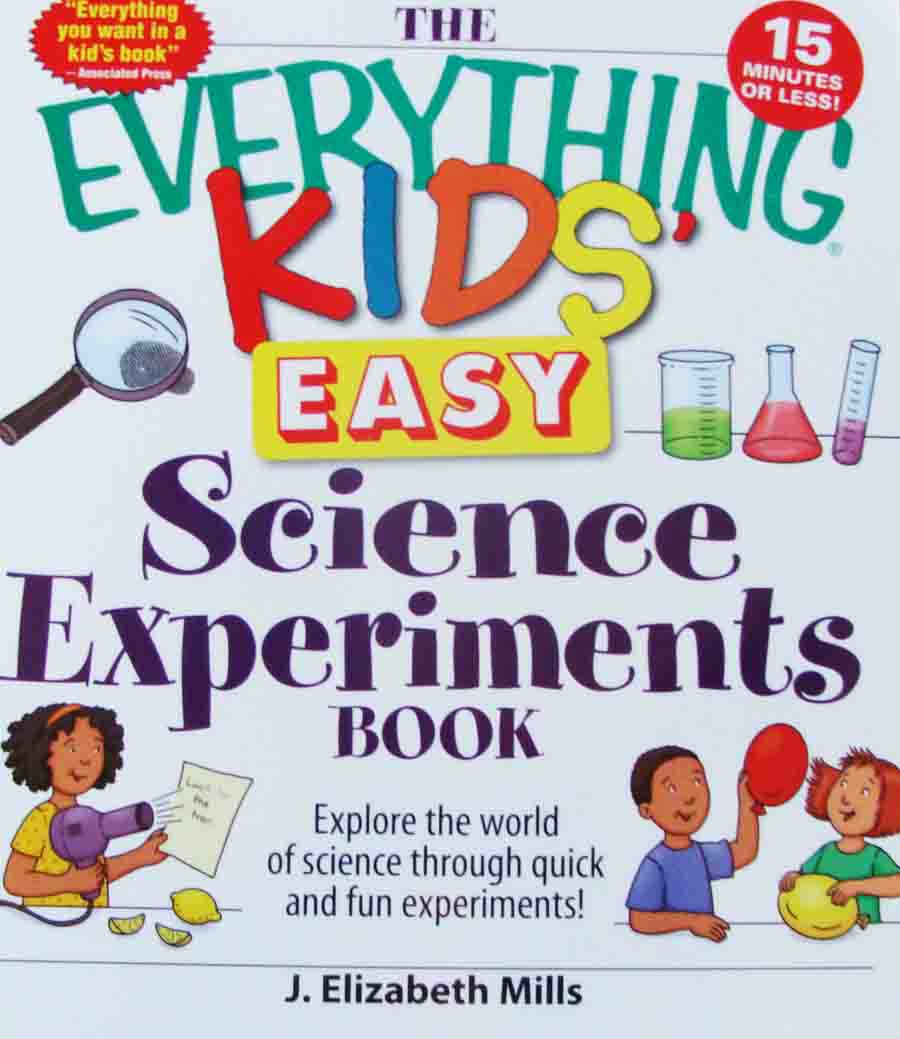 The Everything Kids Easy Science Experiment Book Availabe on Amazon for Under $10